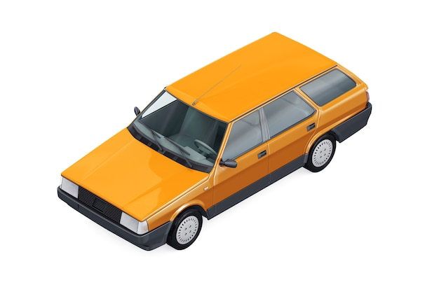 Maqueta de wagon combi car 1984