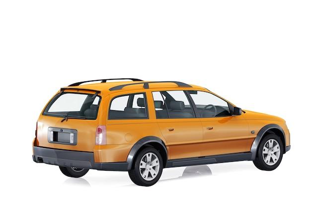 Maqueta de wagon combi car 2005