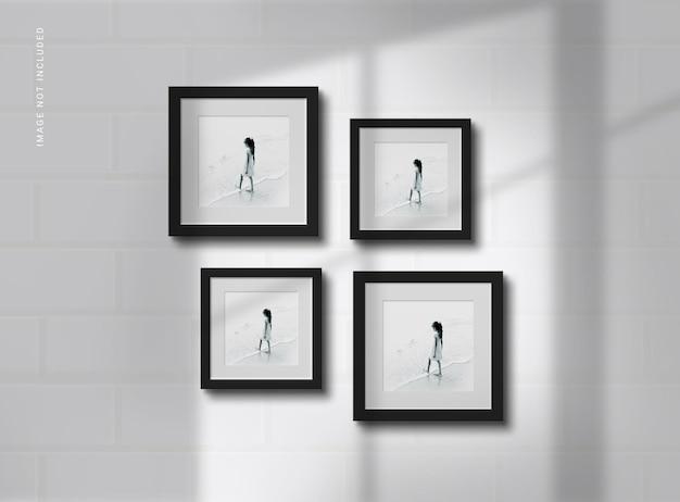Maquetas de marcos de fotos