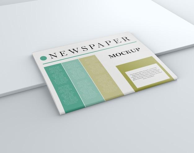 Maquetas de periódicos