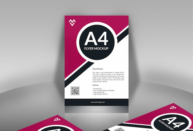 Maquetas de póster / flyer