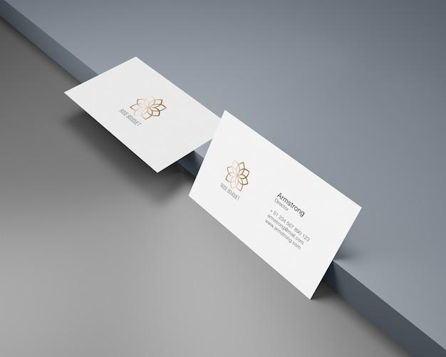 Maquetas de tarjetas de visita