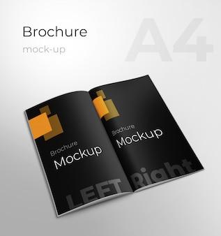 Maquete de brochura de negócios corporativos