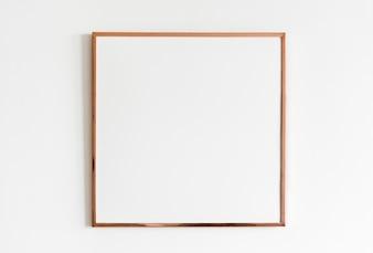 Maquete de moldura de foto