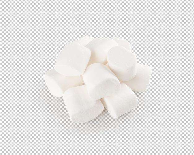 Marshmallow geïsoleerd
