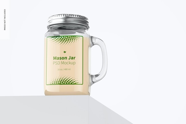 Mason jar-mockup