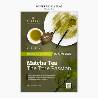 Matcha thee folder sjabloon