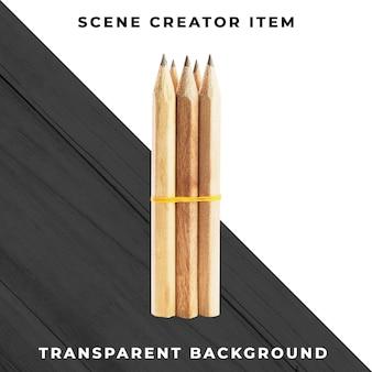 Matita oggetto psd trasparente