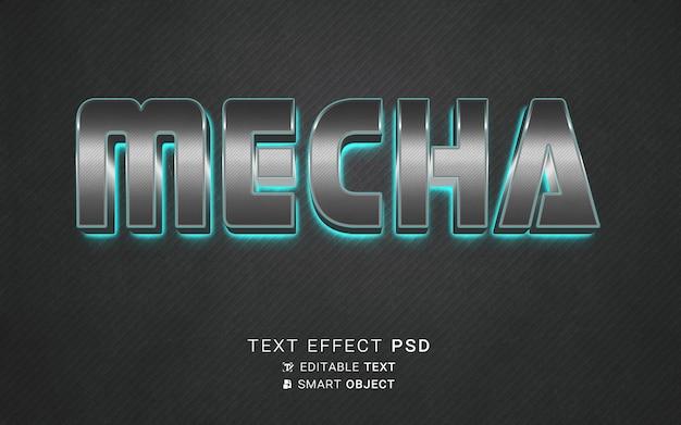 Mecha de efectos de texto