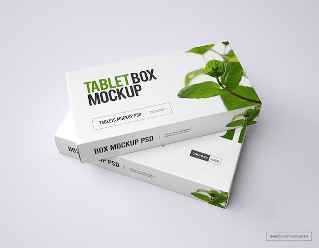 Medicatie-branding en verpakkingsmodel