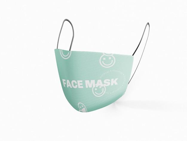 Medisch gezichtsmasker mockup