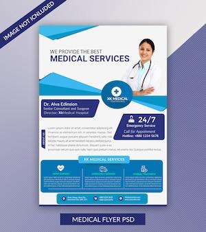 Medische folder sjabloon