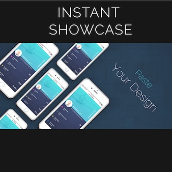 Meerdere iphone mock up