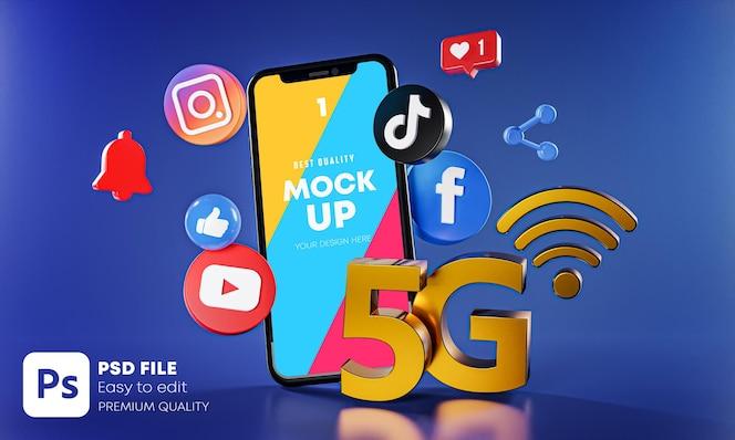 Meest populaire sociale media-apps met telefoonmodel