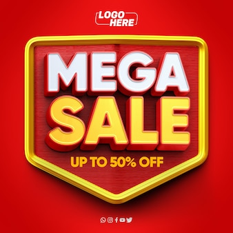 Mega sale-model met tot wel 50 korting
