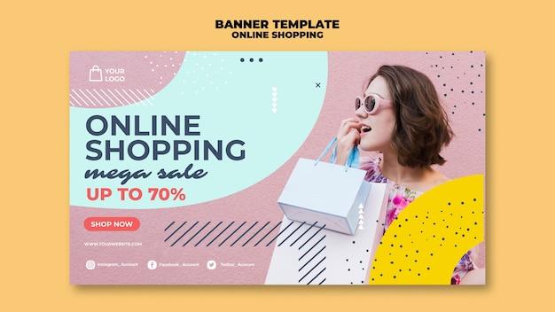 Mega venta de compras en línea