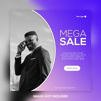 Mega verkoop mode banner