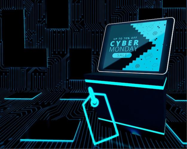 Megakorting cyber maandag tablet