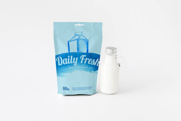 Melkverpakkingsmodel