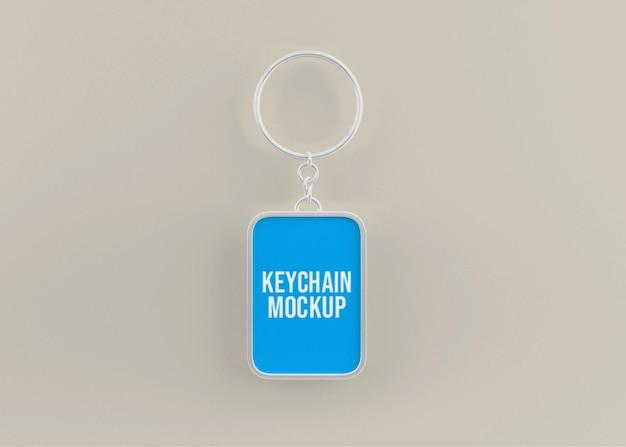 Metalen sleutelhangermodel voor belangrijk accessoire
