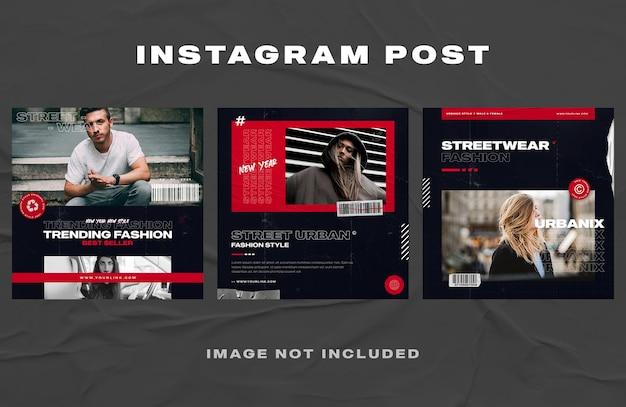 Meubels sociale media sjabloon voor spandoek
