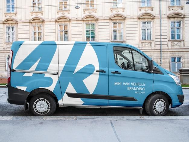 Mini van vehicle branding