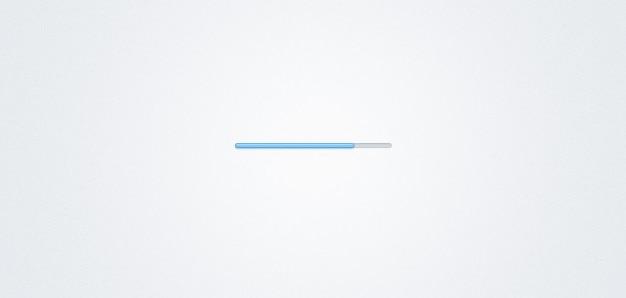 Miniatuur progress bar (psd)