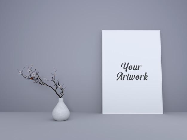 Minimal frame frame mockup