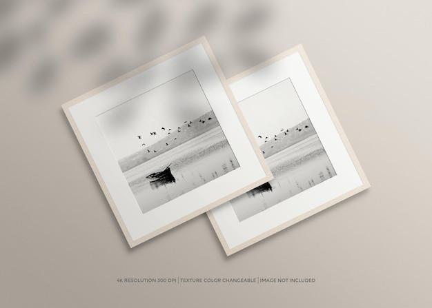 Minimale fotolijst mockup