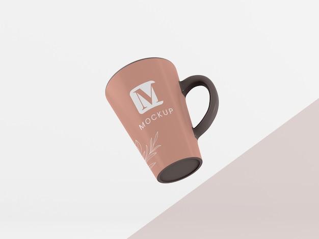 Minimale koffiemok arrangement
