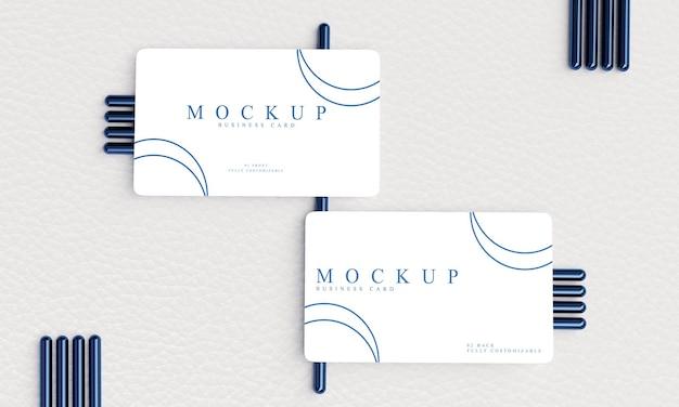 Minimalistisch ontwerp voor visitekaartjes