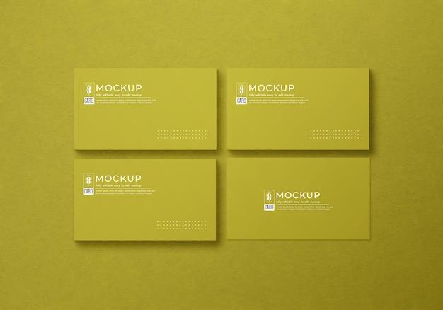 Minimalistisch visitekaartjemodel Premium Psd