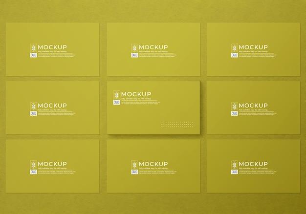 Minimalistisch visitekaartjemodel