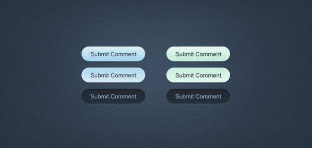 Minty fresh-web buttons (psd)