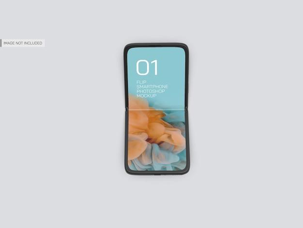 Mobiele mockup omdraaien