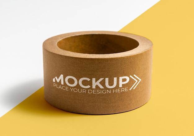 Mock-up arrangement verpakkingstape