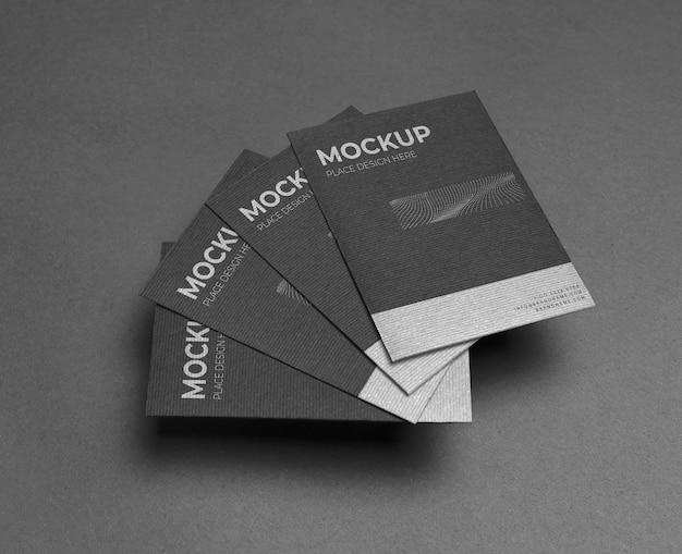 Mock-up arrangement voor bedrijfsbriefpapier