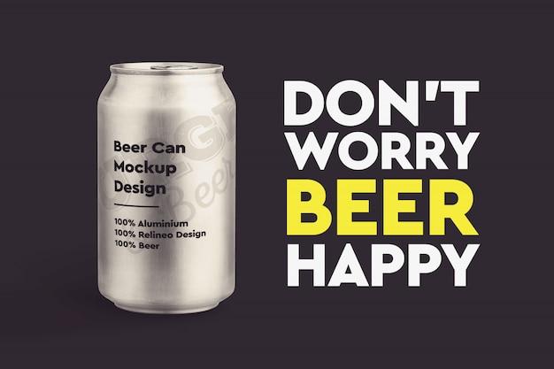 Mock-up di birra