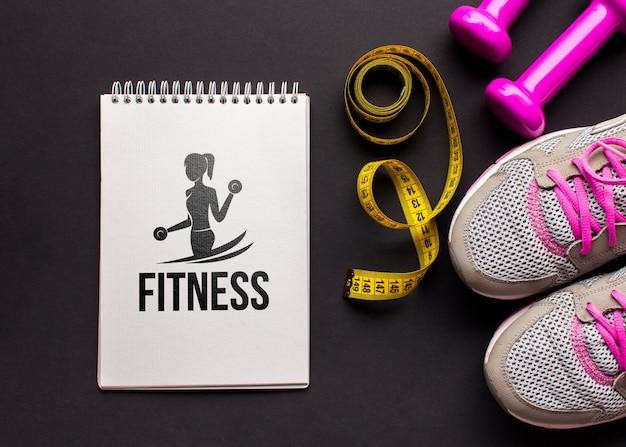 Mock-up fitnessapparatuur
