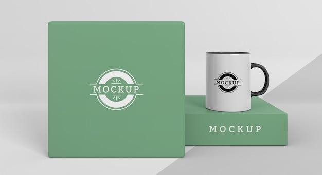 Mock-up mokkendoos assortiment