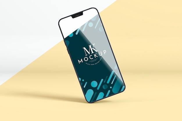 Mock-up nieuwe telefoon