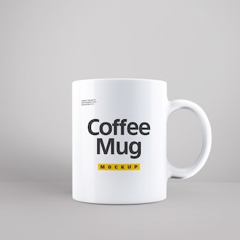 Mock up de taza de café