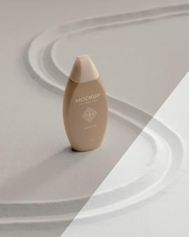 Mock-up voor de verpakking van schoonheidsproducten