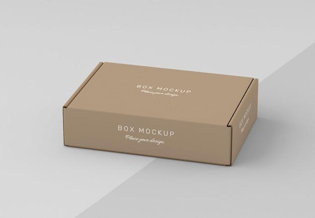 Mock-up voor opslag van kartonnen dozen