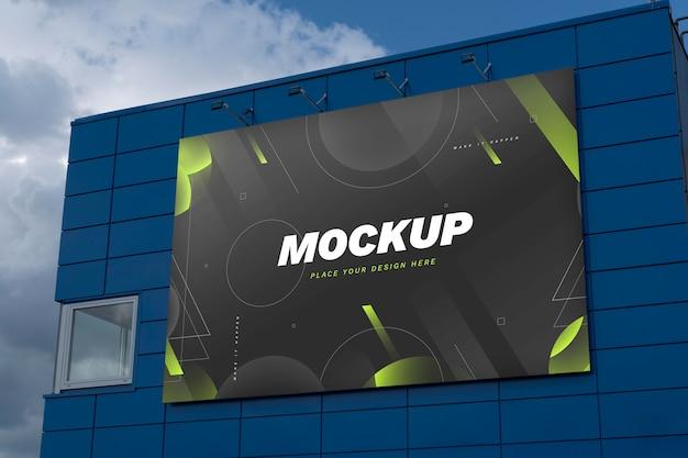 Mock-up voor reclameborden voor straatmarketing