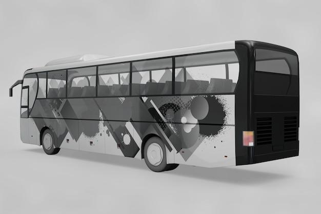Mockup de autobús