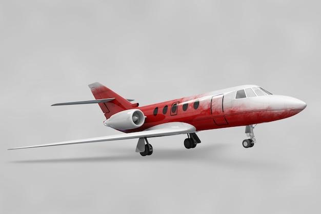 Mockup de avión privado