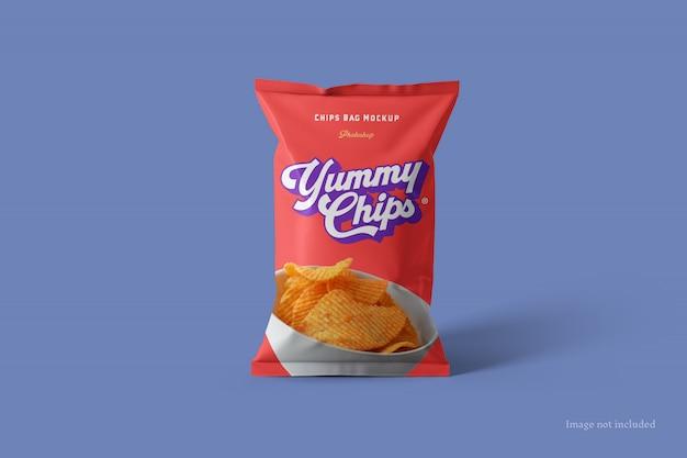 Mockup bag chips