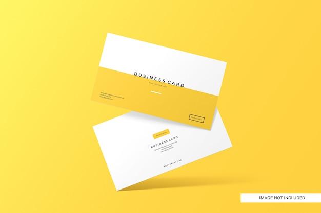 Mockup biglietto da visita creativo