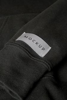 Mockup blouse van dichtbij